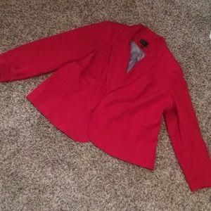 NWOT Plus size red blazer